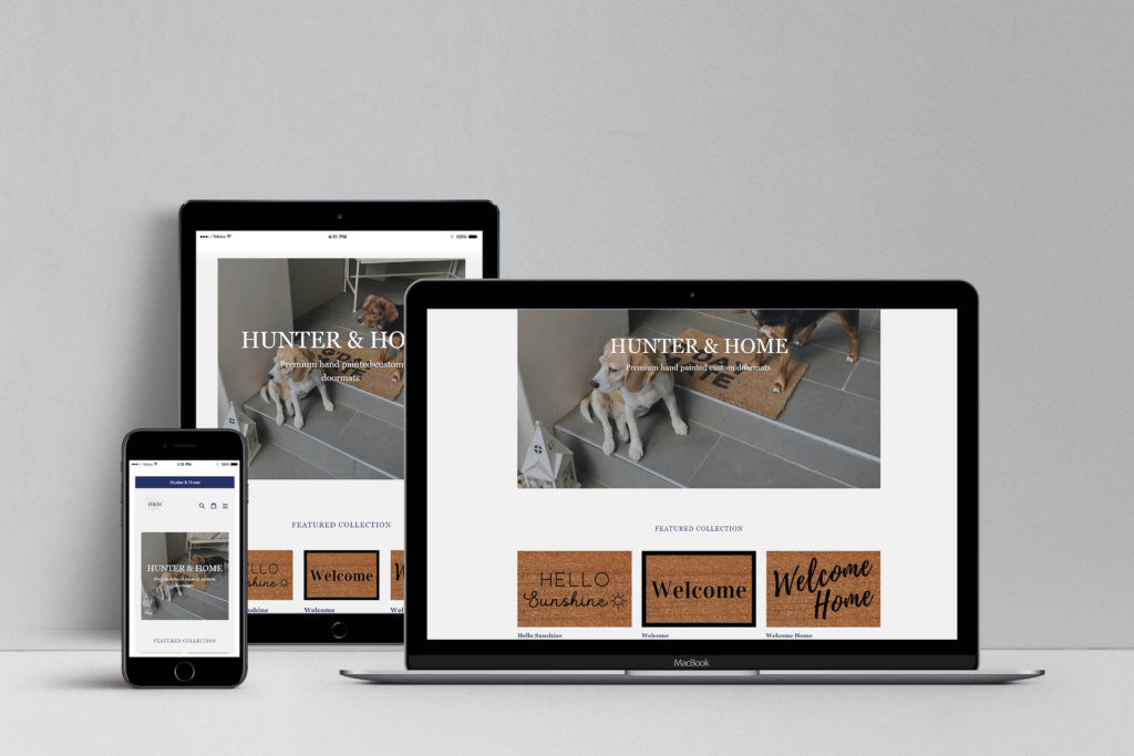 Hunter & Home Website